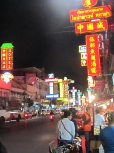 Chinatown - Trubel, Lichter, Menschenmassen....