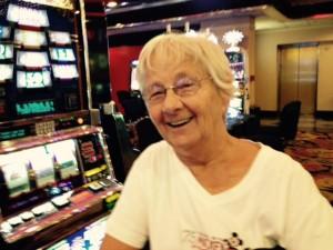 Erfahrene Glücksspielerin - Eunice aus Ohio.