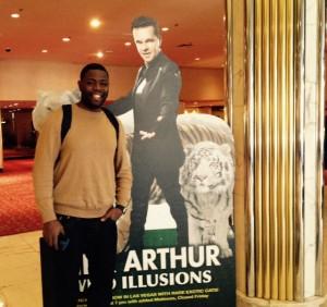 Illusionen? James aus New York blickt ganz realistisch auf das Treiben in Las Vegas.