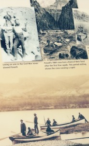William Powell - tollkühner Canyon-Erkunder.